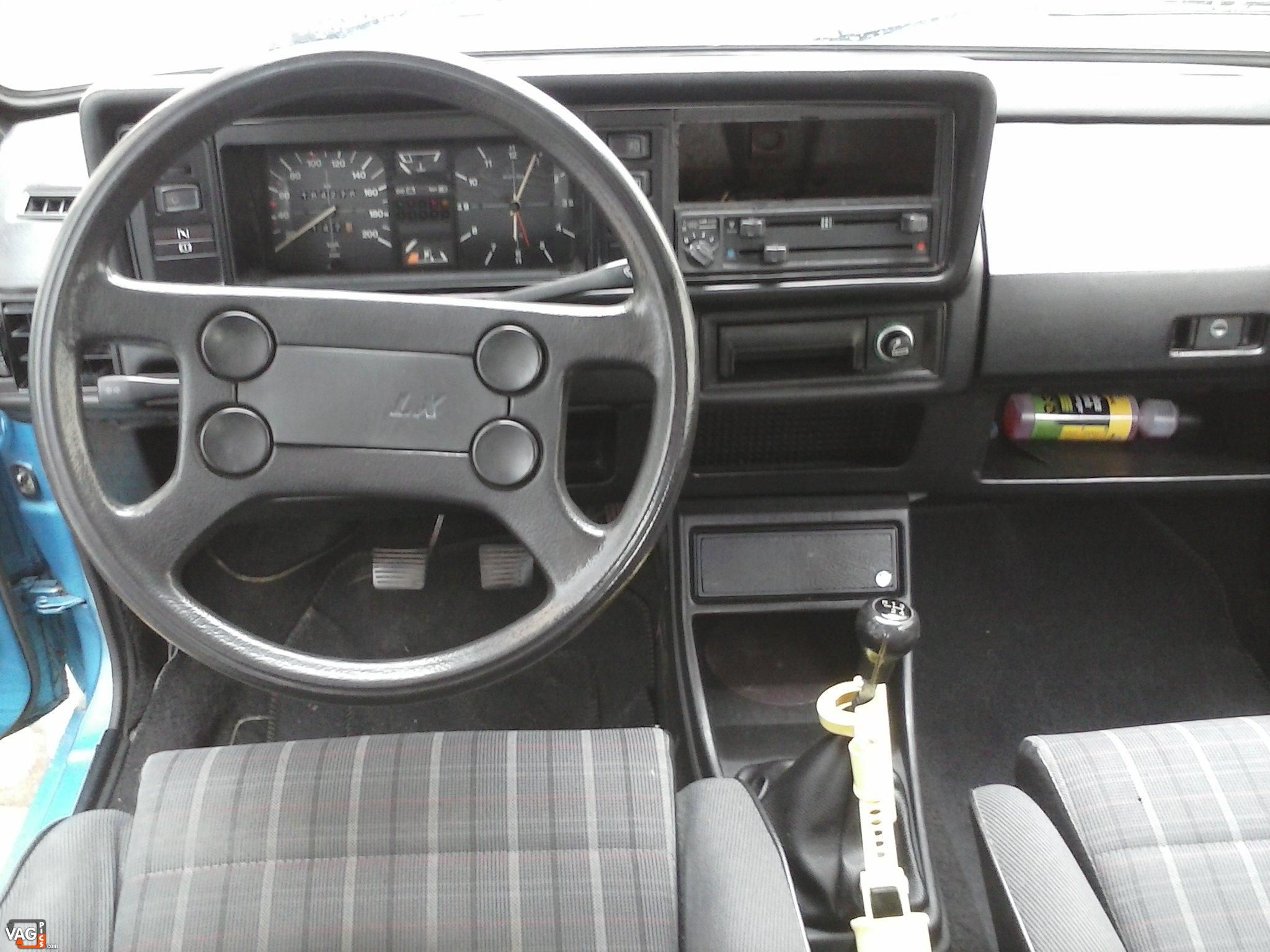 Forum vw golf golfistes voir le sujet 91 golf mk1 for Golf repentigny interieur